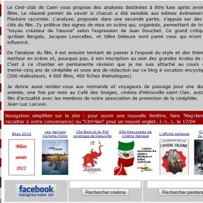 Site du Ciné-club de Caen